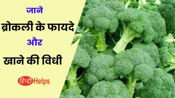जाने ब्रोकली क्या है और इसके अनोखे फायदे – Broccoli Benefits and uses in Hindi